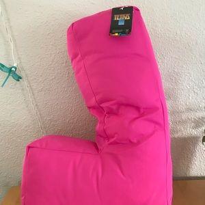 """SEGA Tetris """"L"""" Shape Plush in Hot Pink"""